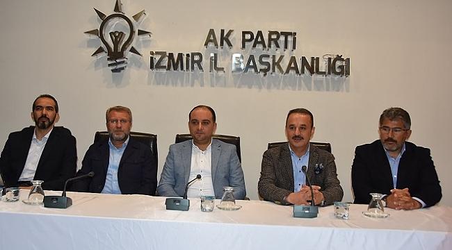 AK Parti İzmir'de temayül yoklaması yapıldı