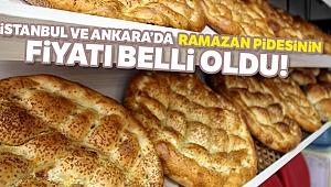 Ankara ve İstanbul'da pide fiyatları belli oldu