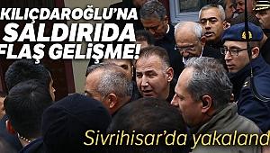 CHP Genel Başkanı Kemal Kılıçdaroğlu'na saldıranlardan biri Sivrihisar'da yakalandı