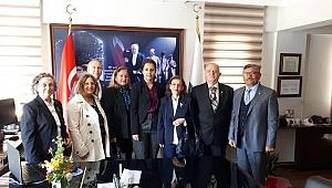 Foça TEMAD'dan emniyet müdürüne ziyaret