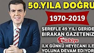 Huzur veren gazete 49 yaşında