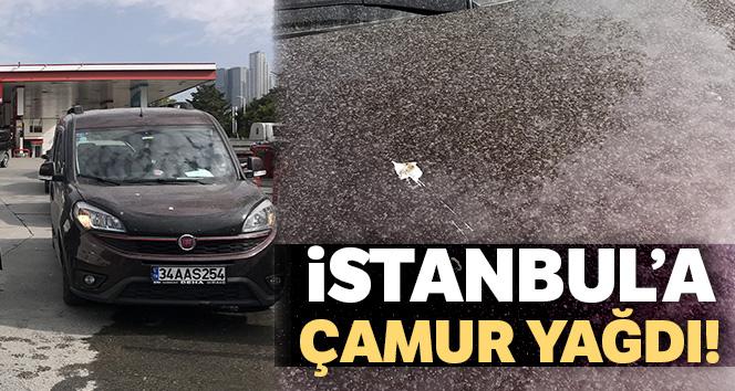İstanbul'a çamur yağdı, vatandaşlar oto yıkamacılara koştu