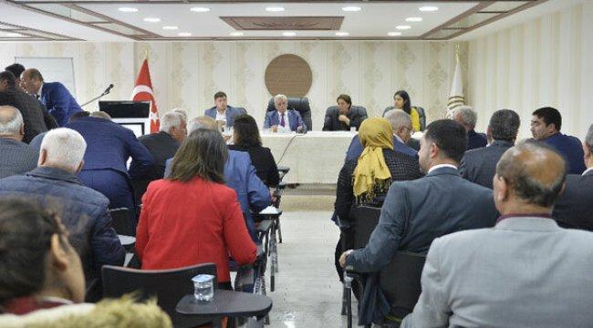 Mardin'de Belediye Meclis toplantısında 'İstiklal Marşı' tartışması