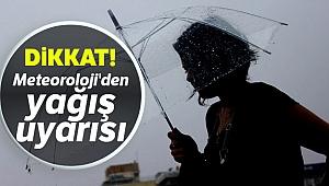 Meteoroloji'den yağış uyarısı! |5 Nisan yurtta hava durumu