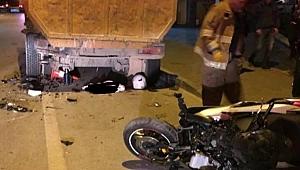 Motosiklet kulübü üyesi motor kazasında öldü