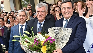 """Narlıdere'de """"Ali Engin dönemi"""" başladı"""