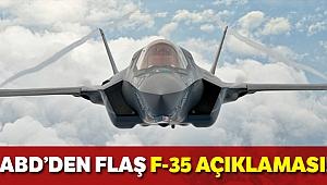 Pentagon'dan açıklama: 'Türk pilotların F-35 eğitimi devam edecek'