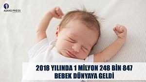 2018 Yılında kaç çocuk dünyaya geldi