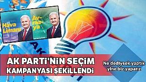 AK Parti'nin seçim kampanyası şekillendi