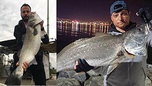 Büyük balık yakalama hobisi aranan kişi yaptı
