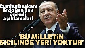 Erdoğan: 'Devlet ebed müddet milletin bizatihi kendisidir'