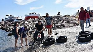 Dikili'de Deniz Temizliği Seferberliği