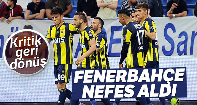 Fenerbahçe Kasımpaşa'da 3 puanı 3 golle aldı