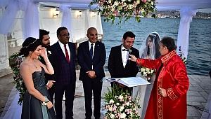 İrfan Önal ve Gökçe Pişkin'in nikahına CHP'li vekillerden çıkarma