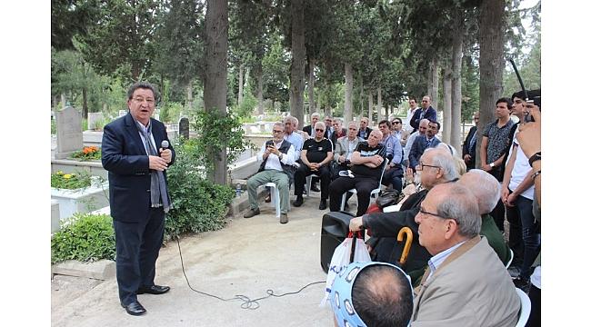 İzmir Mazhar Zorlu'yu Unutmadı