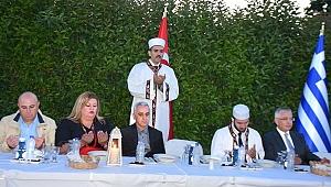 Rodos Başkonsolosu Şekercioğlu'nun iftar davetine yoğun ilgi