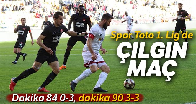 Spor Toto 1. Lig'de unutulmaz maç!
