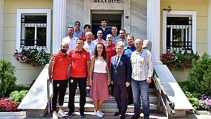 Başkan İduğ,Samsunspor taraftarlarını ağırladı