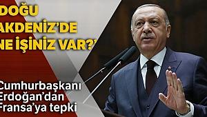 Cumhurbaşkanı Erdoğan'dan Fransa'ya tepki