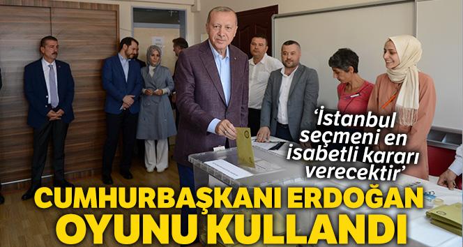 'İstanbul seçmeni İstanbul için en isabetli kararı verecektir diye düşünüyorum'