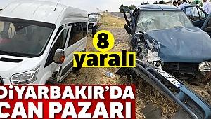 Diyarbakır'da can pazarı: 4'ü çocuk 8 yaralı