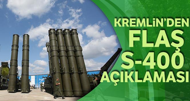 Kremlin'den flaş S-400 açıklaması