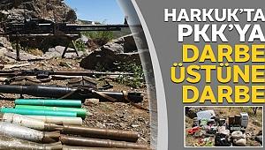 Pençe Harekatı'nda PKK'nın sığınakları imha ediliyor