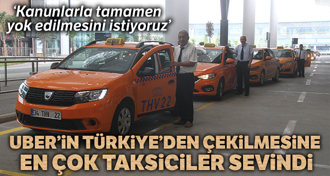 Taksicilerden Uber talebi