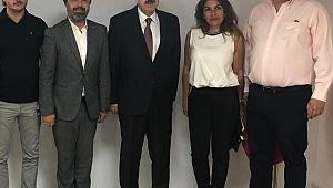 Türsab Btk Başkanlarından Vali Ayyıldız'a Ziyaret