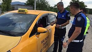 Demirci'de Servis ve Ticari Taksilere Sıkı Denetim