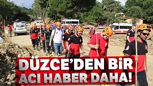 Düzce'de kayıp 6 kişiden birinin cansız bedenine ulaşıldı