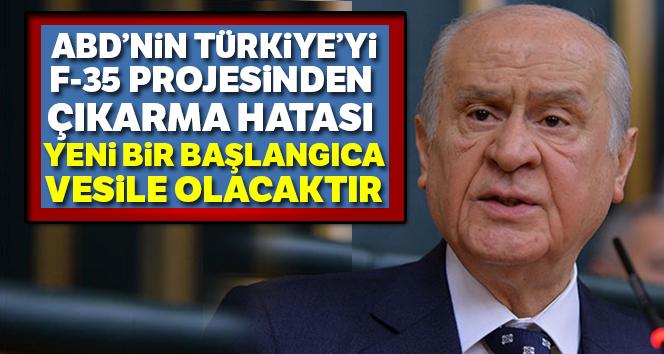 'F-35 projesinden Türkiye'nin çıkarılma hatası yeni bir başlangıca vesile olabilecektir'