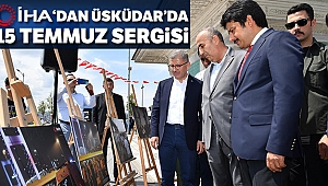 İhlas Haber Ajansı'ndan Üsküdar meydana 15 Temmuz sergisi