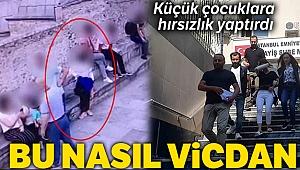 İstanbul'da küçük çocuklara hırsızlık yaptıran kadın yakalandı