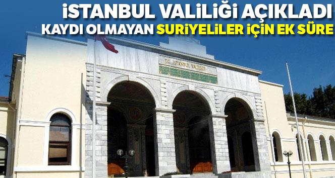 İstanbul Valiliğinden yabancı uyruklular ve Suriyeli açıklaması