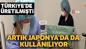 Japonya'da artık Türkiye'nin milli tıbbi cihazları kullanılıyor