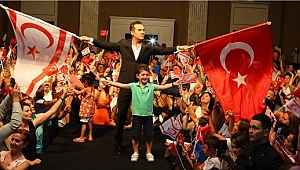 Kıbrıs barış harekatının 45. yılında kıbrıs'ta sahne aldı
