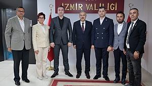 Şehit Gazi-Sen Konfederasyonundan İzmir'e Ziyaret