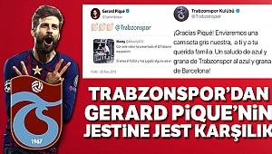 Trabzonspor'dan Pique'ye forma sözü