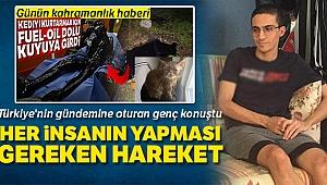 Türkiye'nin gündemine oturan genç konuştu