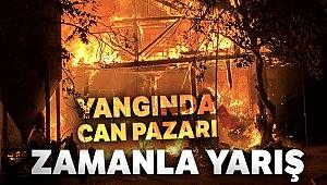 Yangında can pazarı...Bursa'da can kurtarmak için zamanla yarış