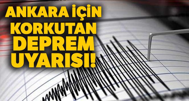 Ankara'da çok sayıda aktif fay var