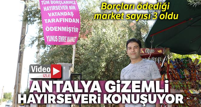 Antalya, gizemli hayırseveri konuşuyor