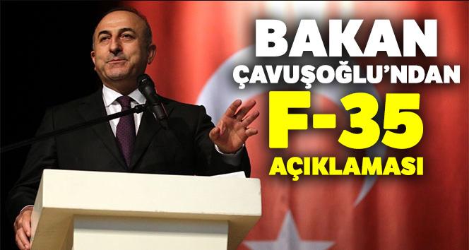 Bakan Çavuşoğlu : 'F-35'leri satın alamazsak diğer alternatifleri arayacağız'