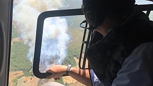 Bakan Pakdemirli'den orman yangını açıklaması