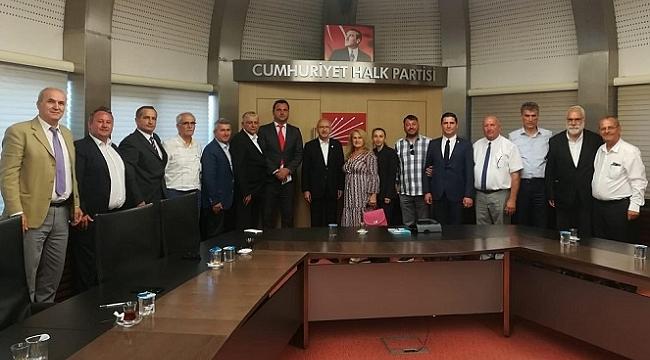 Boşnaklar CHP Lideri İle Buluştu