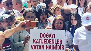 CHP'den Kaz Dağları raporu