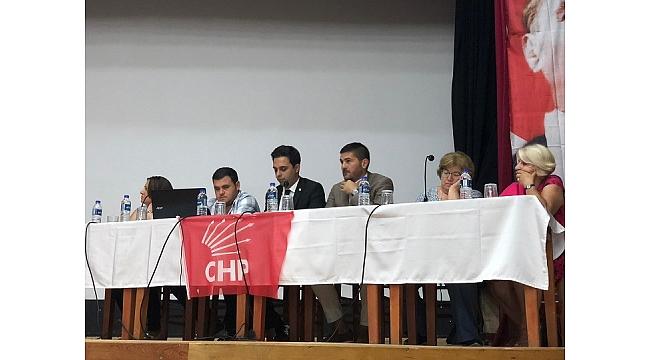 CHP Foça Danışma kurulu toplandı