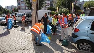 Daha temiz Karabağlar için seferberlik sürüyor