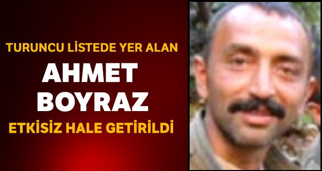 Erzincan'da Turuncu Liste'de yer alan terörist etkisiz hale getirildi